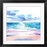 Framed Turquoise Sea II