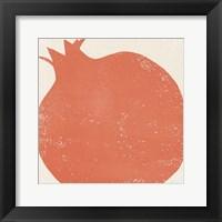 Framed Graphic Fruit I