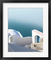 Framed Santorini II