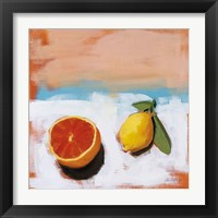 Framed Fruit and Cheer I