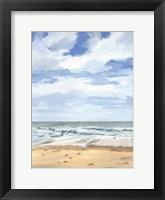 Framed Walk on the Beach II