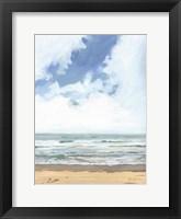 Framed Walk on the Beach I
