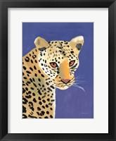 Framed Colorful Cheetah