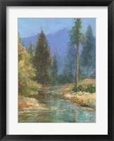 Framed Western Pines