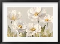 Framed White Anemones