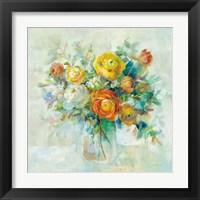 Framed Blooming Splendor I