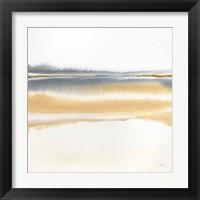 Framed Beige and Gold II