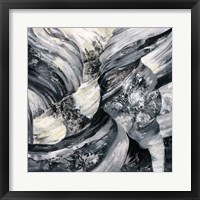 Framed Graphic Canyon I
