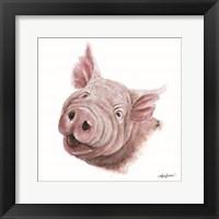Framed Penny the Pig