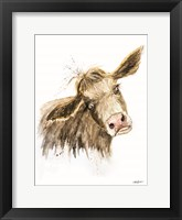 Framed Miles the Cow