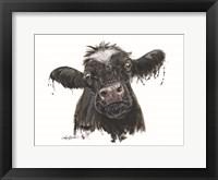 Framed Doris the Dairy Cow