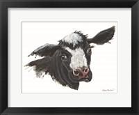 Framed Daisy the Dairy Cow