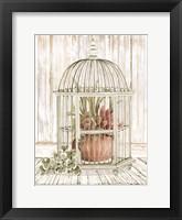Framed Caged Beauty II