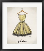 Framed Je T'aime Dress