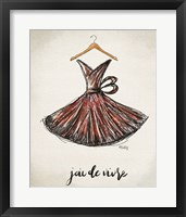 Framed Joie de Vivre Dress