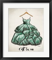 Framed C'est La Vie Dress