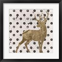 Framed Forest Glam Deer
