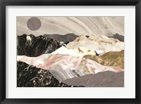Framed Marble Mountains