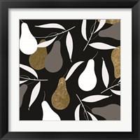 Framed Au Pear Black