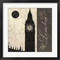 Framed London Moon