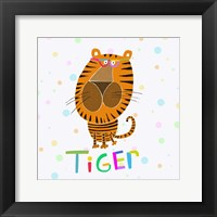 Animal Spots X Framed Print