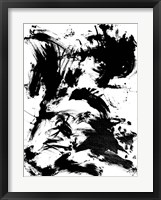 Expressive Abstract I Framed Print