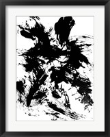 Expressive Abstract II Framed Print