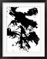 Expressive Abstract III Framed Print