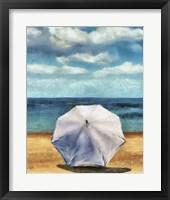Beach Umbrella II Framed Print
