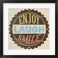 Framed Seal of Laughter