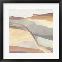 Canyon Rim II Framed Print