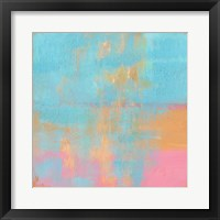 Day Glow Pastel I Framed Print
