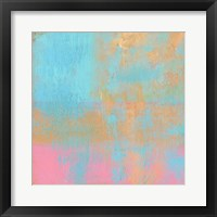 Day Glow Pastel II Framed Print