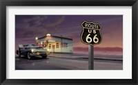 Framed Route 66