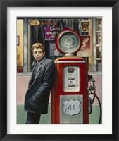 Framed James Dean