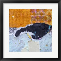 Framed High Texture Abstract V