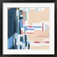 Summer Abstraction I Framed Print