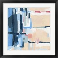Summer Abstraction III Framed Print