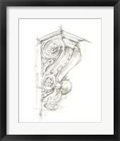 Framed Corbel Sketch I