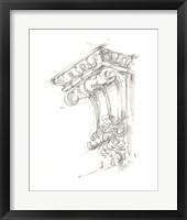 Framed Corbel Sketch II