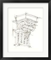 Framed Corbel Sketch III
