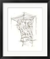 Framed Corbel Sketch IV