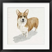 Framed Pup for the Queen II