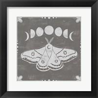 Framed Hallowed Moon I