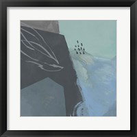 Steely Abstract III Framed Print
