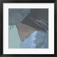 Steely Abstract IV Framed Print