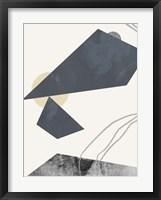 Diamond Slate I Framed Print