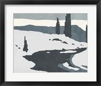 Cutter Island II Framed Print