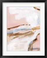 Salt Flat Tracks II Framed Print