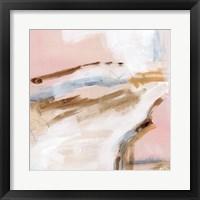 Salt Flat Tracks III Framed Print
